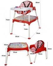 Xmamma 3 In 1 Multi Mama Sandalyesi-Çalışma Masalı Mama Sandalyesi-2
