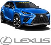 Lexus Ön Cam Oto Sticker