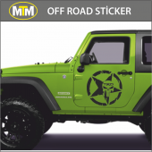 Army Star Trd Off Road Oto Sticker