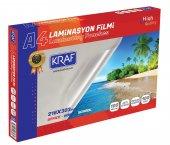 Kraf Laminasyon Filmi Parlak A4 100mıc 100lü Ücretsiz Kargo
