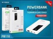 Syrox Powerbank Ekranlı 10000 Mah Pb110