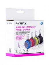 Syrox S12 Taşınabilir Mini Bluetooth Hoparlör Ses Bombası Syx S12