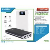 Syrox 12000 Mah Powerbank Syx Pb104