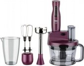Fakir Mr Chef Quadro Violet Mutfak Robotu Blender Seti