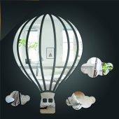 Balon ve Bulut Figürlü Dekoratif Duvar Aynası-3