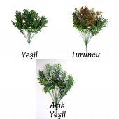 Yapay 18 Dallı Dev Belgrad Bitkisi 50 cm 3 Renk