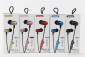 Wireless MS-T14 Mıknatıslı Kablosuz Bluetooth Mikrofonlu Kulaklık-4