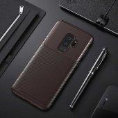 Samsung Galaxy S9 Plus Kılıf Karbon Tasarım Silikon Kılıf Zore-2