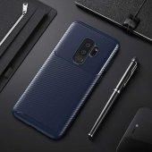 Samsung Galaxy S9 Plus Kılıf Karbon Tasarım Silikon Kılıf Zore-3