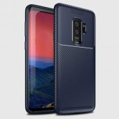 Samsung Galaxy S9 Plus Kılıf Karbon Tasarım Silikon Kılıf Zore-6