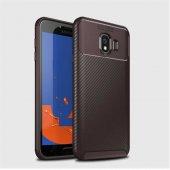 Samsung Galaxy J4 Kılıf Karbon Tasarım Silikon Kılıf Zore-2