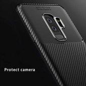 Samsung Galaxy S9 Plus Kılıf Karbon Tasarım Silikon Kılıf Zore-9