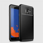 Samsung Galaxy J4 Kılıf Karbon Tasarım Silikon Kılıf Zore-4
