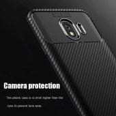 Samsung Galaxy J4 Kılıf Karbon Tasarım Silikon Kılıf Zore-6
