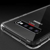 Samsung Galaxy M20 Şeffaf Kılıf Nitro Shock Silikon Arka Kap-6