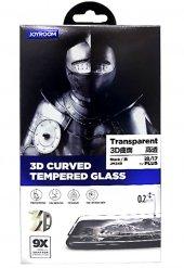 Joyroom JM349 iPhone 7 Plus Beyaz Curved Tempered Glass-2