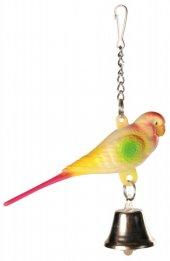 Trixie Kuş Oyuncağı, Zilli Muhabbet Kuşu 9cm