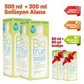 Biotrue 300 Ml X 2 Adet + 2 Adet X 60ml Hediye...