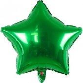 Folyo Balon Yıldız Koyu Yeşil