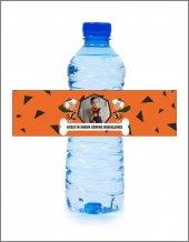 Kişiye Özel Su Şişe Etiketi (36 Adet)