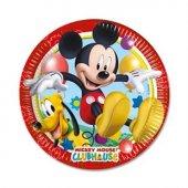 Mickey Mouse Temalı Tabak