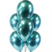 Krom Yeşil Renk Balon 5 Adet