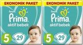 Prima Ekonomik Paket 5 Numara 29*2 58 Adet Bebek Bezi 11 16 Kg
