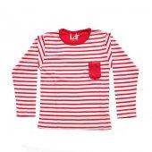 Ldr Kız Çocuk Renkli Sweatshirt Fuşya Beyaz 2 6 Yaş