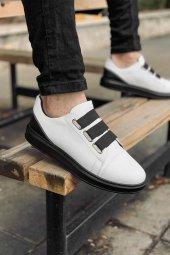 2020 Özel Tasarım Ortopedik Erkek Beyaz Siyah Spor Ayakkabı