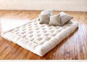 Tek Kişilik Yün Yatak, 90x190 Doğal ,sağlıklı, Rahat Uyku İçin