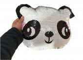 14 Şubat Özel Peluş Panda Pullu Yastık 45 Cm...