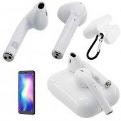 Oppo Reno Z Uyumlu Kablosuz Mikrofonlu Kulaklık Bluetooth 5.0 Tüm Telefonlara Uyumlu Kılıf Hediye
