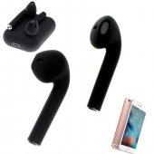 Oppo Reno Z Uyumlu Kablosuz Kulaklık Tws Mat Siyah Stereo Bluetooth Kulaklığı Esc More