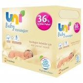 Uni Baby Yenidoğan Islak Mendil 36lı Fırsat Paketi