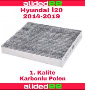 Hyundai İ20 Karbonlu Polen Filtresi 2014 2019 Arası Tüm Modeller İçin
