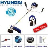 Hyundai Hyx43 Yan Tip Motorlu Tırpan Yeni Model Canavar Başlık Aparatlı
