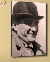 ata-20 Atatürk Mecliste Kanvas Tablo
