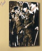 ata-2 Atatürk Mecliste Kanvas Tablo