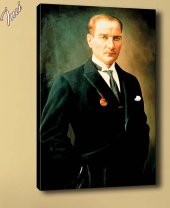 ata-183 Atatürk Mecliste Kanvas Tablo