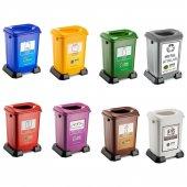 Geri Dönüşüm Sıfır Atık Kutusu Plastik 50 Litre