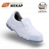 Mekap Loder 060 S2 Beyaz Çelik Burun İş Ayakkabısı