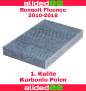 Renault Fluence Karbonlu Polen Filtre 2010 2019 Arası Tüm Modeller