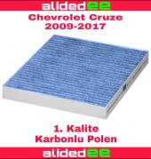 Chevrolet Cruze Karbonlu Polen Filtresi 2009 2017 Arası Tüm Modeller