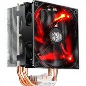 Cm T400i Kule Soğutucu Kırmızı Led Fan Intel