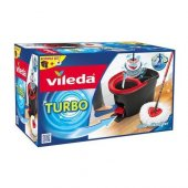 Vileda Turbo Pedallı Temizlik Seti, Kova, Sopa,...