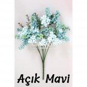 Büyük Cipso Ara Dal Çiçek Malzemesi 4 Renk-2