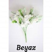 Büyük Cipso Ara Dal Çiçek Malzemesi 4 Renk-3