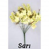 Büyük Cipso Ara Dal Çiçek Malzemesi 4 Renk-5