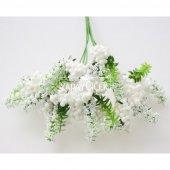Büyük Cipso Ara Dal Çiçek Malzemesi 4 Renk-7