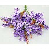 Büyük Cipso Ara Dal Çiçek Malzemesi 4 Renk-8